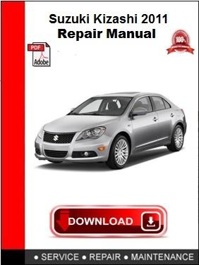 Suzuki Kizashi 2011 Repair Manual