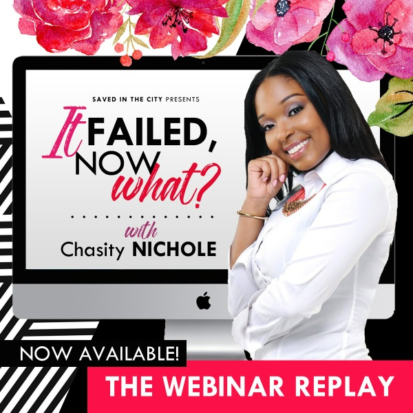 """It Failed, Now What?"" Webinar Replay"