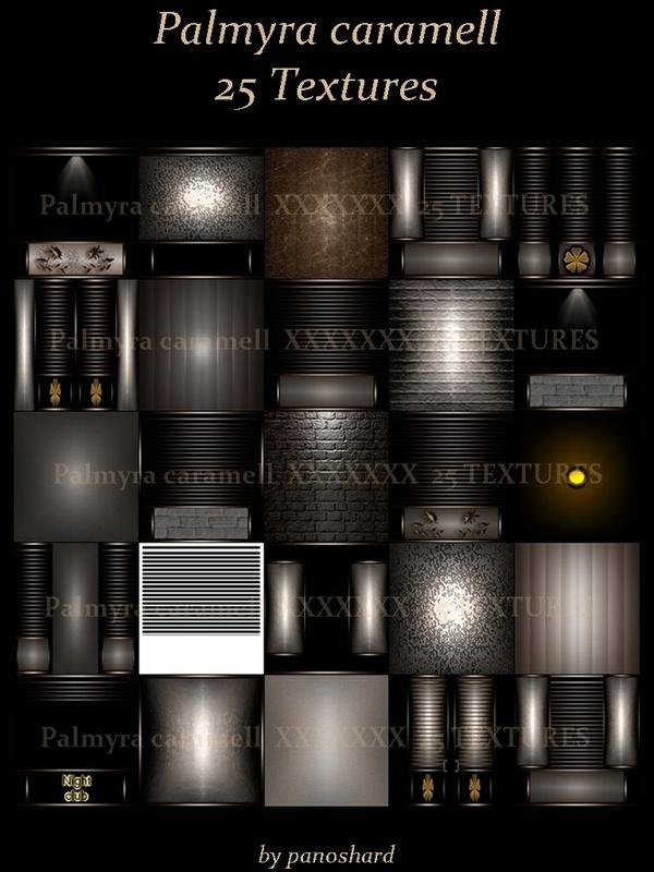 PALMYRA CARAMELL 25 textures imvu