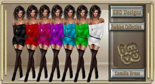Camilla Dress CATALOG ONLY!!