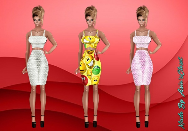 Emoji & Print Dresses Resell Rights!!!