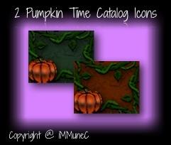 2 Pumpkin Time Catalog Icons
