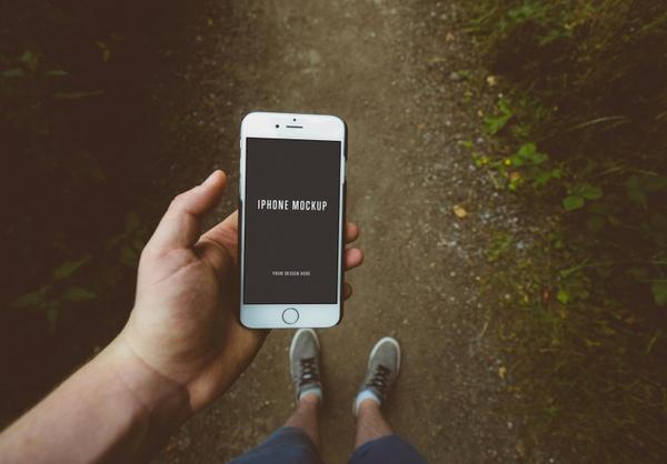 Free iPhone Mockup (PSD)