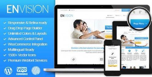 Envision v2.0.9.3 - Responsive Retina Multi-Purpose Theme