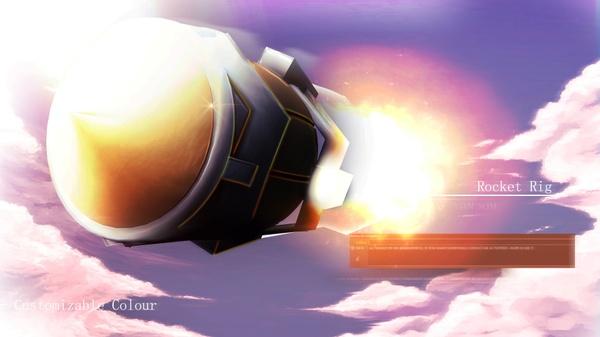 Rocket Rig / Customizable Colour