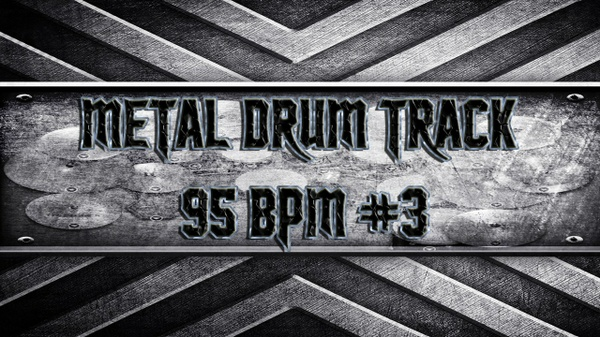 Metal Drum Track 95 BPM #3