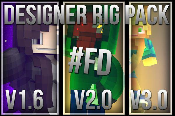 Designer Rig Pack (1.6, 2.0, 3.0)