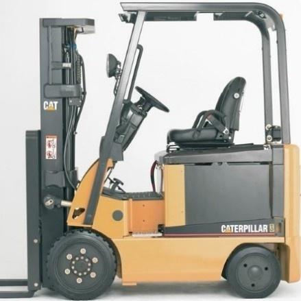 Caterpillar Electric Forklift EC15N, EC18N, EC20N, EC25N, EC25EN, EC25LN, EC30N Service Manual