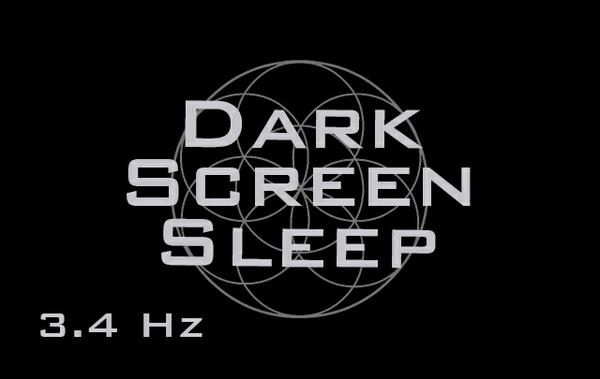 Dark Screen Sleep  - Media Blackout Background - Fall Asleep Fast - Binaural Beats - Sleep Music