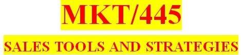 MKT 445 Week 3 Sales Activities Paper and Flowchart