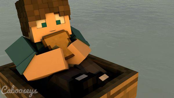 Minecraft Scene Render