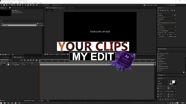 Have your video edited by me!