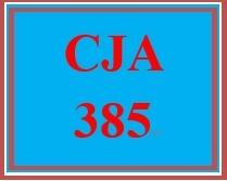 CJA 385 Week 3 Policy Monitoring vs. Policy Evaluation Comparison Brief