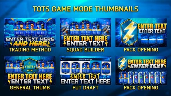 FIFA 16 MC TOTS SERIES THUMBNAIL PACK