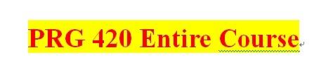 PRG 420 Week 4 Individual Salesperson Java™ Application Part III