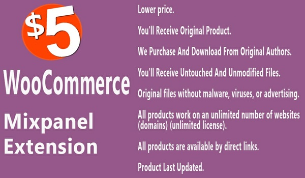WooCommerce Mixpanel Extension