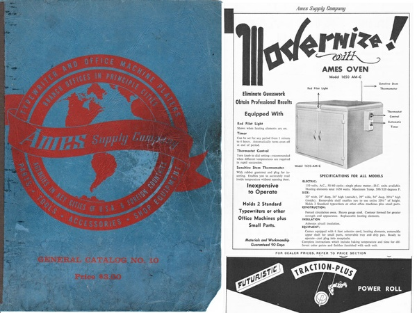 1960 AMES General Catalog No. 10