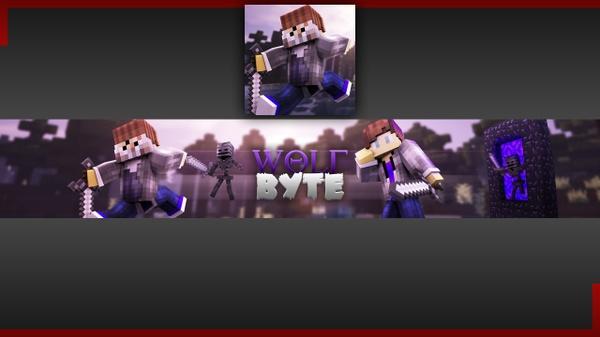 Minecraft Youtube Banner + Avatar