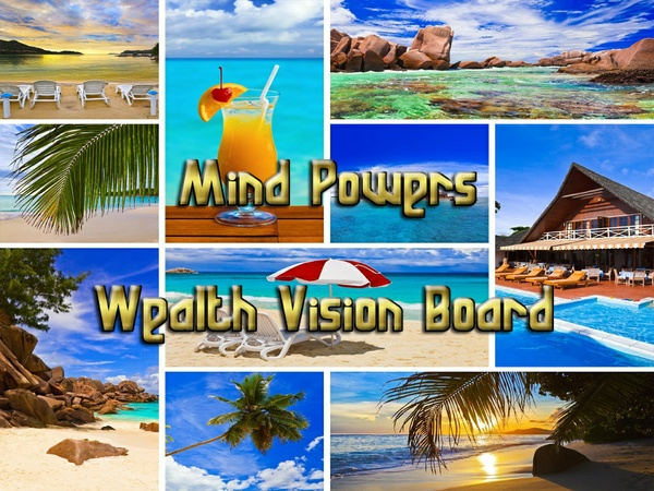 Mind Powers - Wealth Vision Board Mind Movie