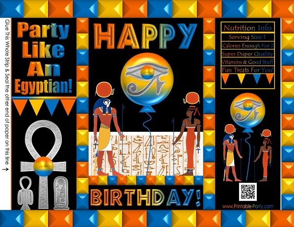 custom-chip-cookie-treat-favor-bags-potato-chip-ancient-egypt-orange-black-blue