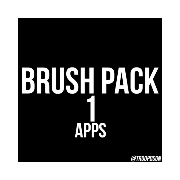 (APPS ONLY) Brush Pack 1