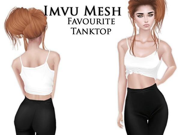 IMVU Mesh - Tops - Favourite Tanktop