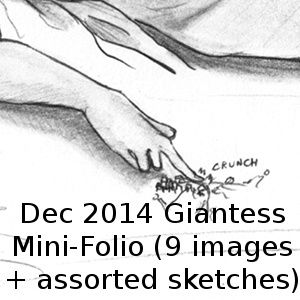 Dec 2014 Giantess Mini-Folio
