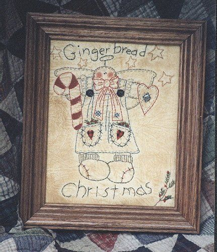 #113 Gingerbread Christmas E Pattern