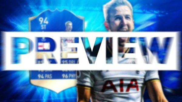 FIFA 17 TOTS KANE THUMBNAIL TEMPLATE