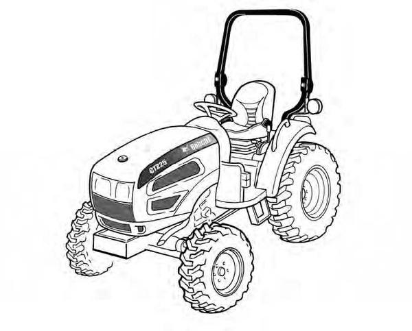 Bobcat CT225, CT230, CT235 Compact Tractor Service Repair Manual Download