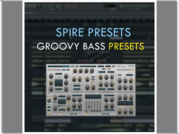 Spire Presets - Groovy Bass Presets