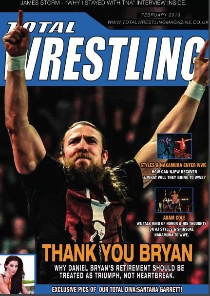 Total Wrestling Magazine February 2016