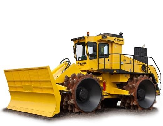BOMAG Sanitary landfill compactor BC 972 RB / BC 1172 RB SERVICE REPAIR MANUAL