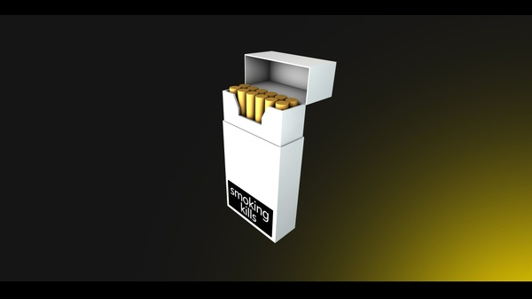 Cigarette Pack Rig - [CINEMA 4D]