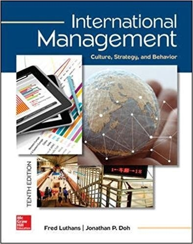 International Management Culture, Strategy, and Behavior 10th Edition ( PDF, Instant download )