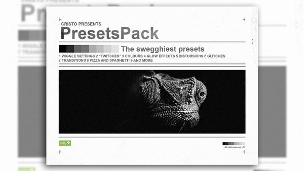 Cristo's Presets Pack #3