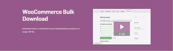 WooCommerce Bulk Download 1.2.6 Extension