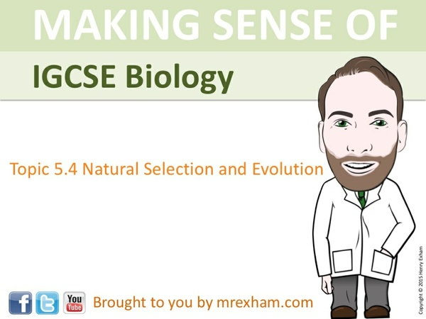 IGCSE Biology - Evolution Presentation