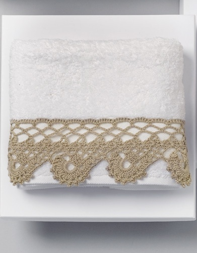 Crochet Towel Lace Edging
