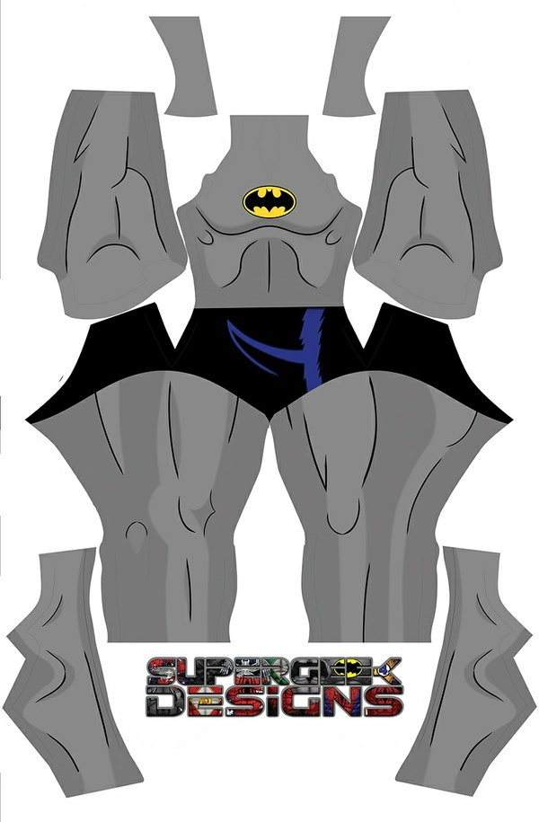 BATMAN the animated TV show (no belt) pattern file