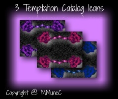 3 Temptation Catalog Icons