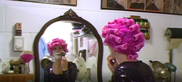 Kat's Face Shave in Wig and Rollers - VOD Digital Video on Demand