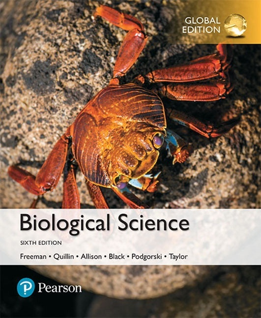 Biological Science, 6th edition ( Global Edition )  ( PDF, Instant download )