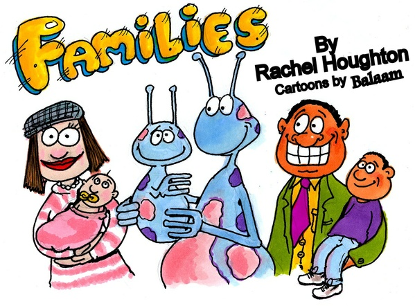"""FAMILIES"" & ""I Need to Tell You Something"" by Rachel Houghton"