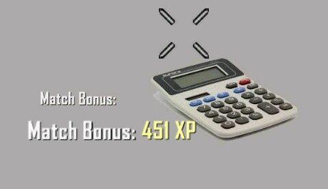 BO2 Perfected Match Bonus Calculator