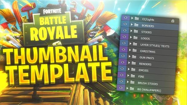 FORTNITE: Battle Royale Thumbnail KIT