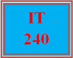 IT 240 Week 3 Individual Twisted Pair