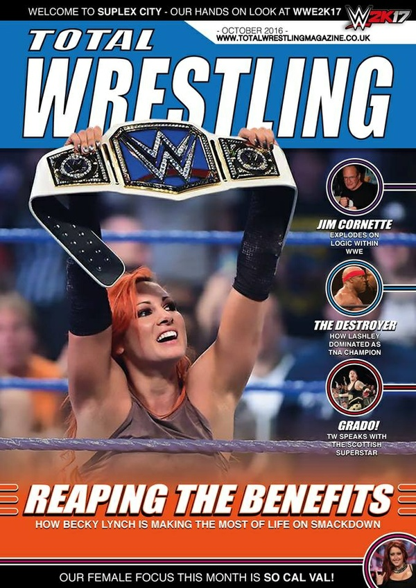 Total Wrestling Magazine October 2016