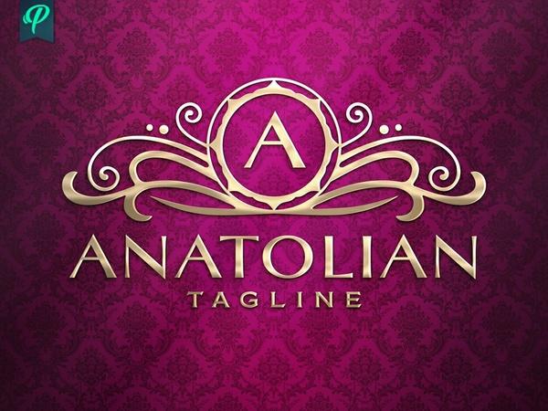 Anatolian - Luxury Elegant Logo