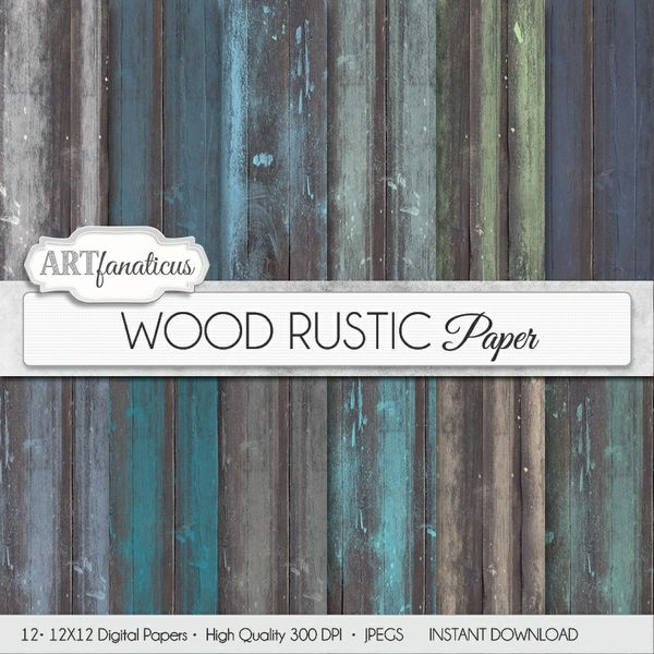 WOOD RUSTIC - DIGITAL PAPER